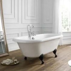 April Skipton Double Ended 1700mm Freestanding Bath – White
