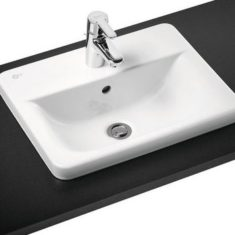 Ideal Standard Concept Cube Countertop Basin and Overflow