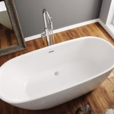 April Harrogate Freestanding Bath 1700mm x 740mm