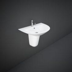 RAK Morning Basin With Half Pedestal