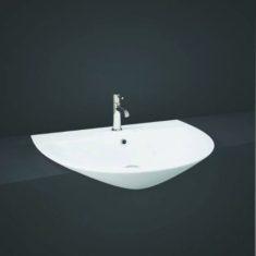 RAK Morning 55cm Semi-Recessed 1TH Basin