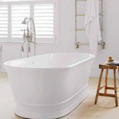 BC Designs Cian® Cast Solid Surface Aurelius Bath 1740 x 760mm