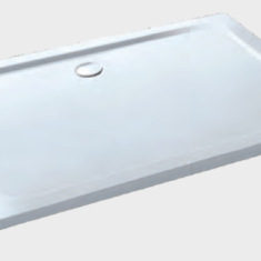 Eastbrook Volente Anti Slip Rectangular Shower Tray – 1300 x 800mm