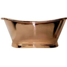 BC Designs Copper Boat Bath Freestanding Classic Roll Top 1500mm x 700mm