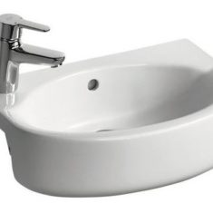 Ideal Standard Concept Space 50cm Arc Semi Countertop Furniture Basin – Short Projection