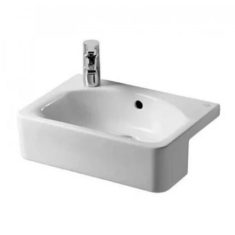 Ideal Standard Concept Cube 50cm Semi Countertop Basin – Short Projection