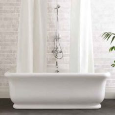 BC Designs Cian®Cast Solid Surface Senator Bath with/without feet 1804 x 850mm