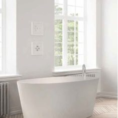 BC Designs Cian®Cast Solid Surface Projekt Sorpressa Bath -1510 x 760mm