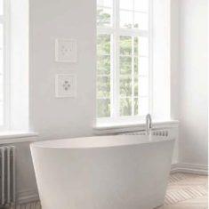BC Designs Cian®Cast Solid Surface Projekt Sorpressa Bath -1510 x 760mm