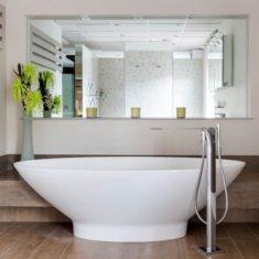 BC Designs Cian®Cast Solid Surface Tasse Bath 1770 x 880mm