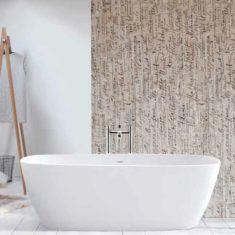BC Designs Cian®Cast Solid Surface Vive Bath 1610 x 750mm