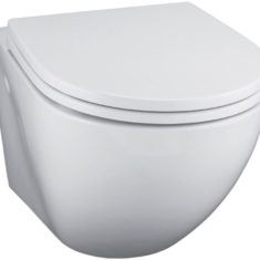 Ideal Standard Wall Hung WC Pan & Soft Close Seat