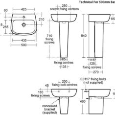 Ideal Standard Studio Echo Washbasin
