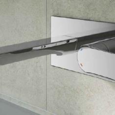 Tissino Pacato Wall Mounted Single Lever Basin Mixer