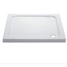 April Anti-Slip Square Shower Tray – 700, 760, 800, 900, 1000mm