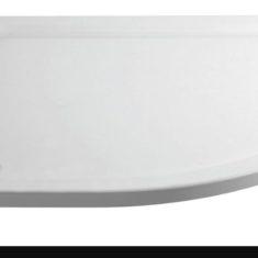 April Anti-Slip Offset Quadrant Shower Tray – 1000 x 800mm