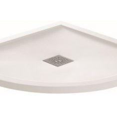 April Waifer®Gloss White Quadrant Shower Tray-800x800mm