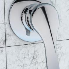 Eastbrook Concealed Manual Valve, Round Shower Handset, Shower Hose & Round Outlet Elbow