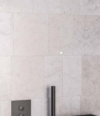 Eastbrook Smooth Matt Black Concealed Push Button Valve, Luxury Shower Shelf, Round Shower Head, Round Shower Arm & Shower Hose