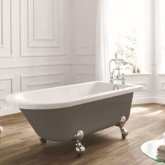 April Bentham 1700 x 750mm Single Ended Freestanding Bath