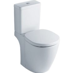 Ideal Standard Concept Cube CC WC Pan, Cistern & Soft Close Seat