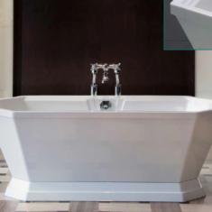 Carron Highgate 1750 x 800 x 630mm Freestanding Carronite Bath