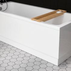 Eastbrook Beauforte Adjustable L-Shaped Bath Panel 1810 x 810mm