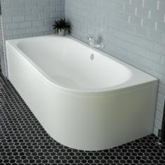Eastbrook Beaufort Biscay DE 1700 x 750 x 440mm Acrylic Bath