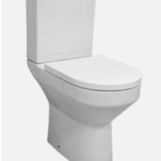 Eastbrook Kenley C/C BTW Comfort Height Rimless Pan , Cistern & Soft Close Seat