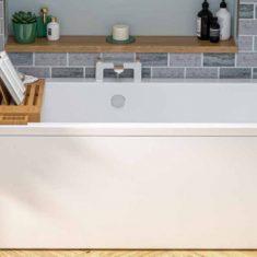 Eastbrook Beaufort Portland DE 1700 x 700 x 440mm Acrylic Bath